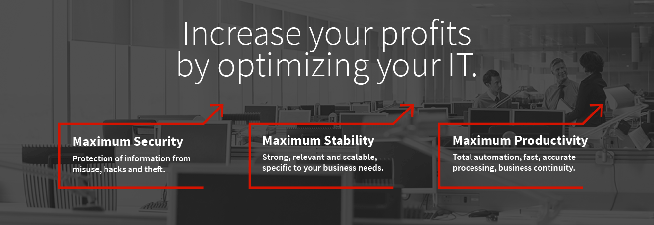 How to increase profits by optimizing your IT